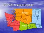 field veterinarian regions