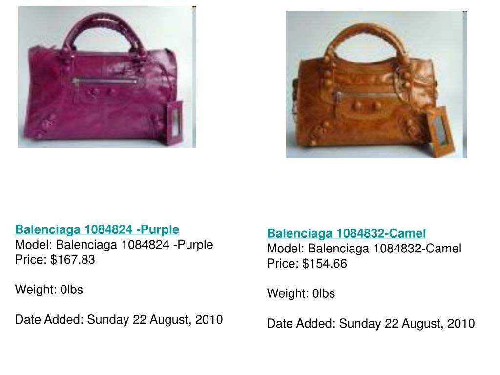 Balenciaga 1084824 -Purple