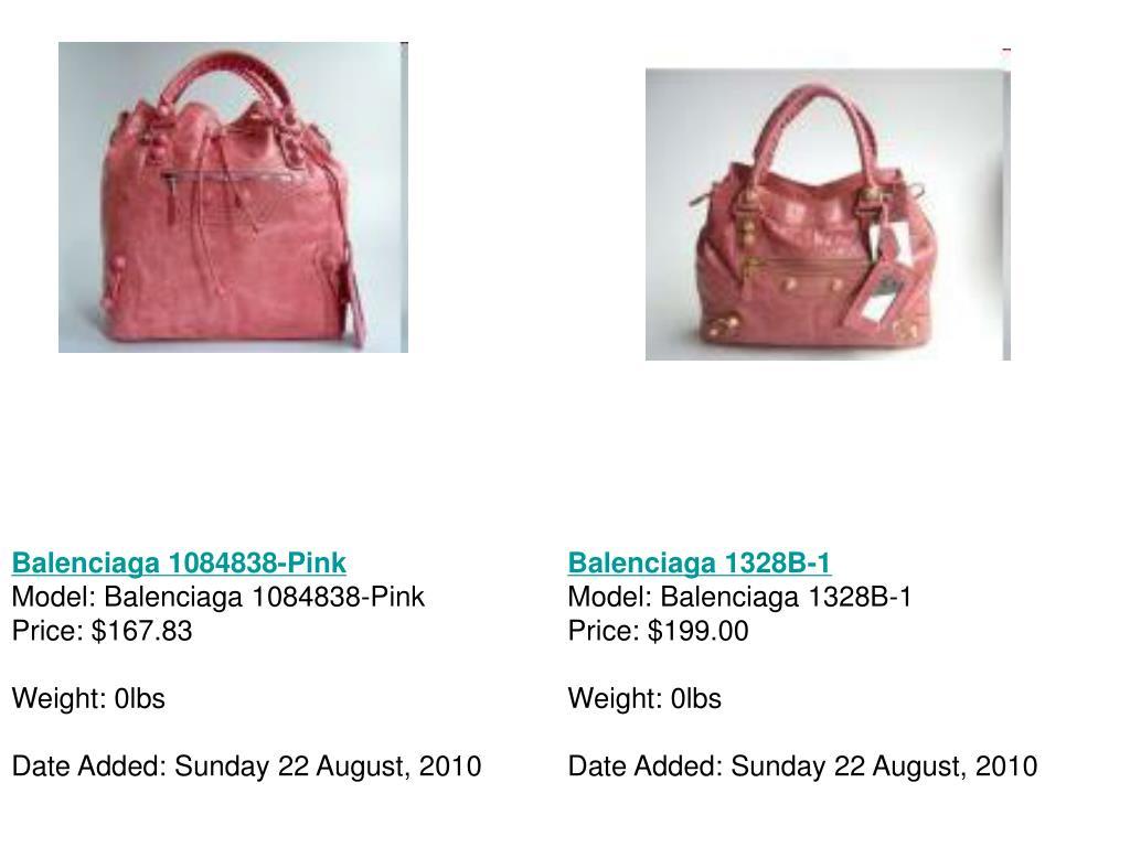 Balenciaga 1084838-Pink