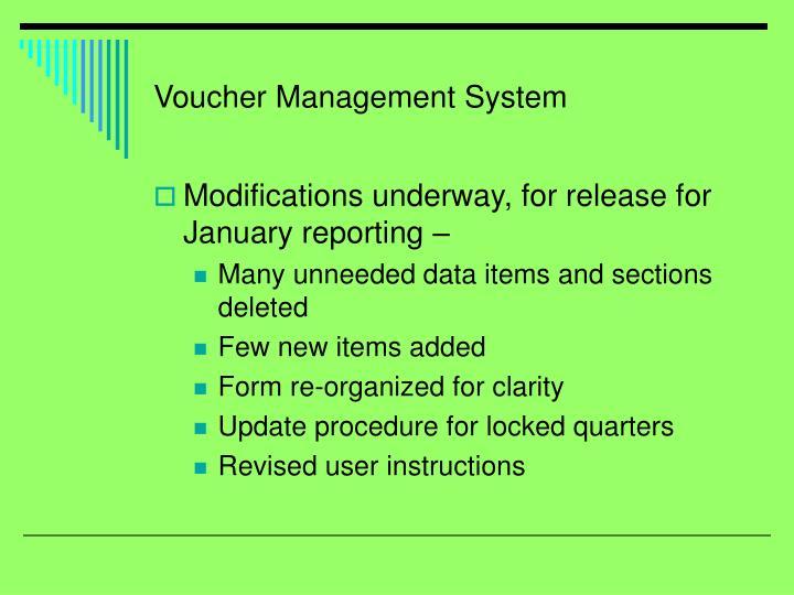 Voucher Management System