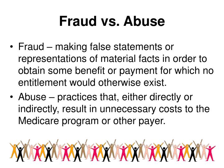 Fraud vs. Abuse