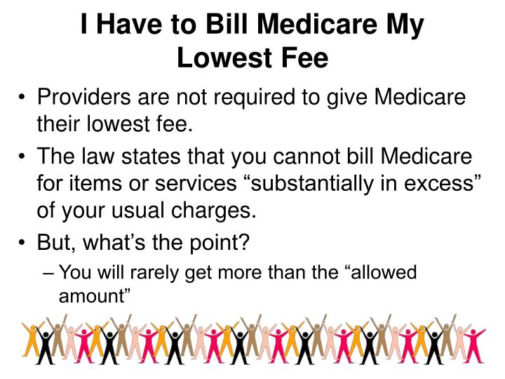 I Have to Bill Medicare My
