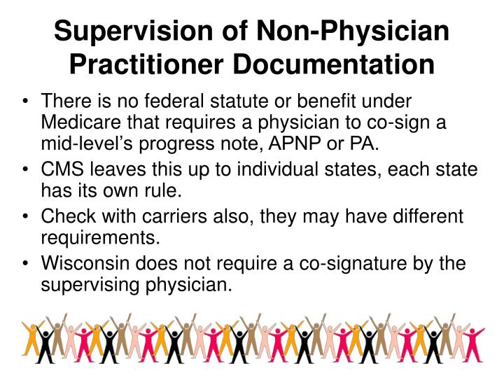 Supervision of Non-Physician Practitioner Documentation