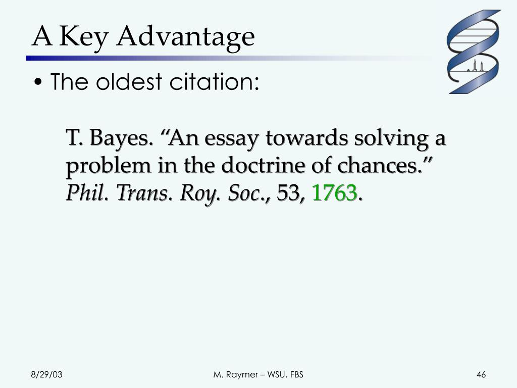 A Key Advantage