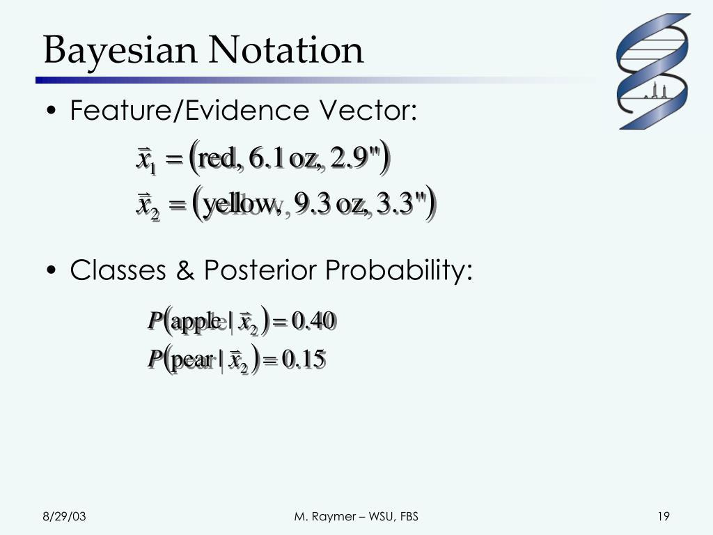 Bayesian Notation