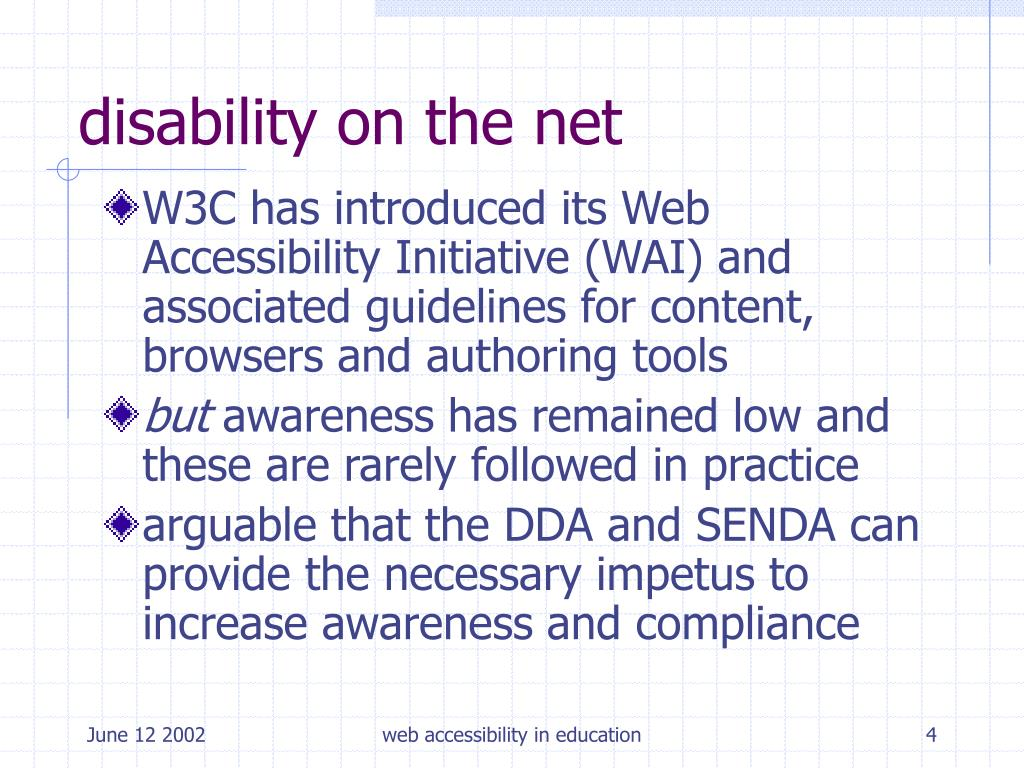 disability on the net