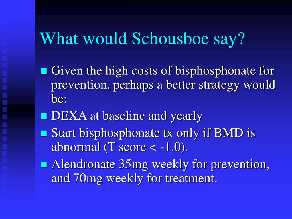 What would Schousboe say?