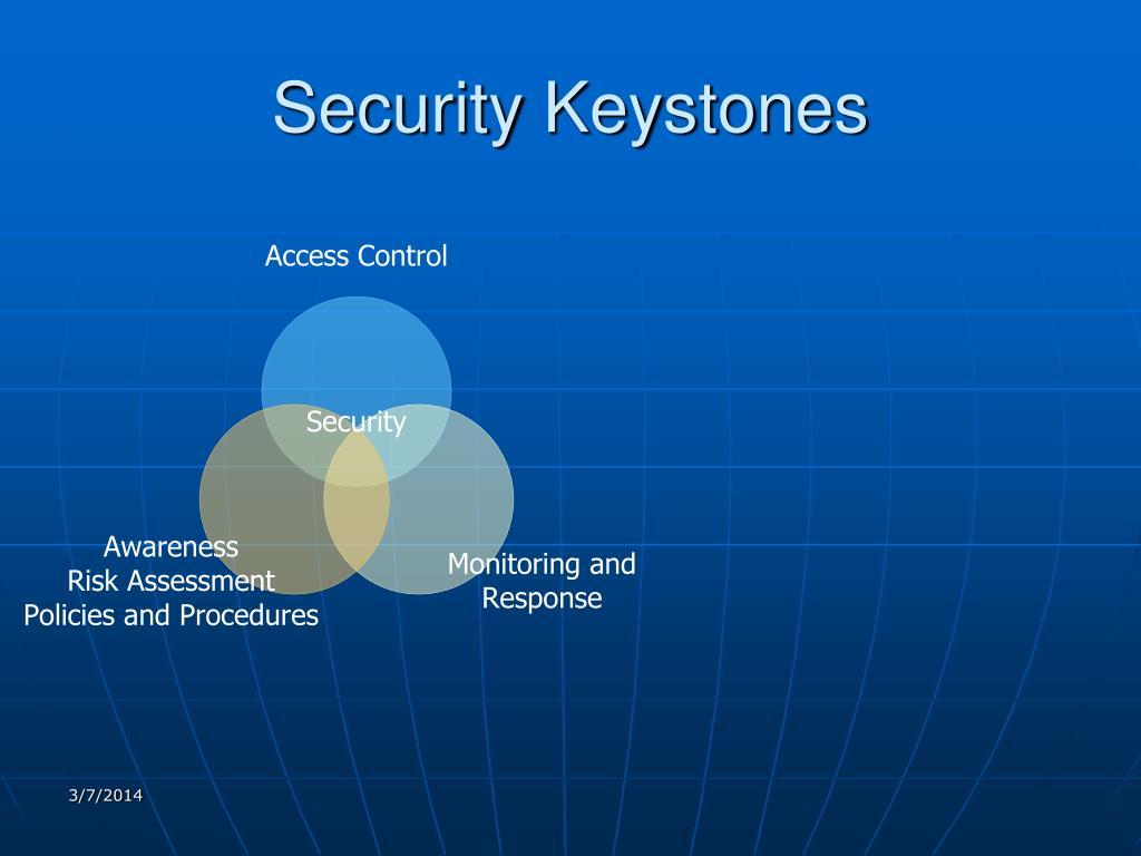 Security Keystones