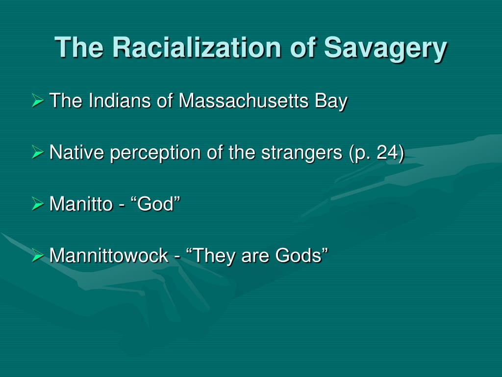The Racialization of Savagery