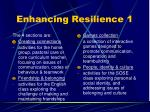 enhancing resilience 1