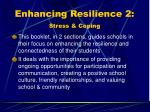 enhancing resilience 2 stress coping
