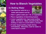 how to blanch vegetables1