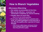 how to blanch vegetables3