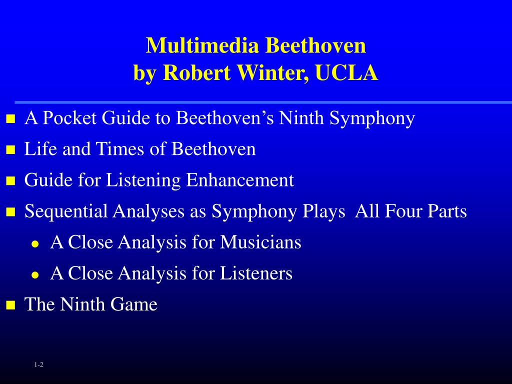 Multimedia Beethoven