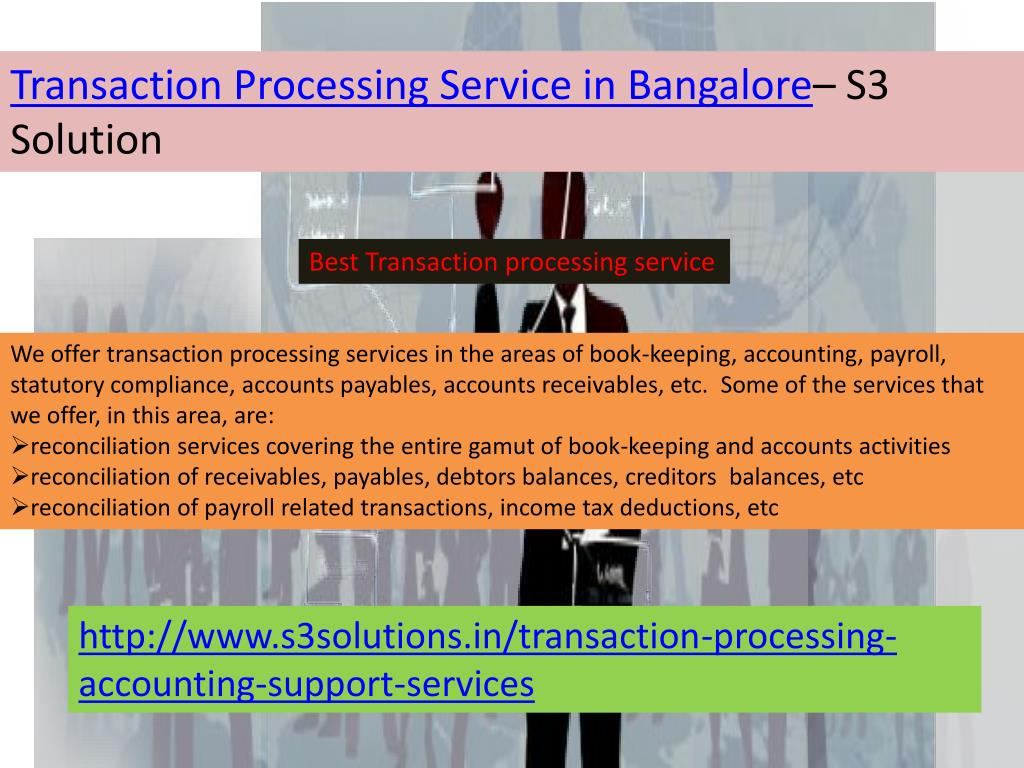 Transaction Processing Service in Bangalore