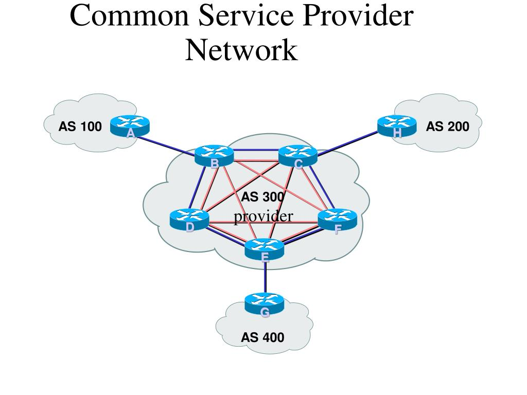 Common Service Provider Network