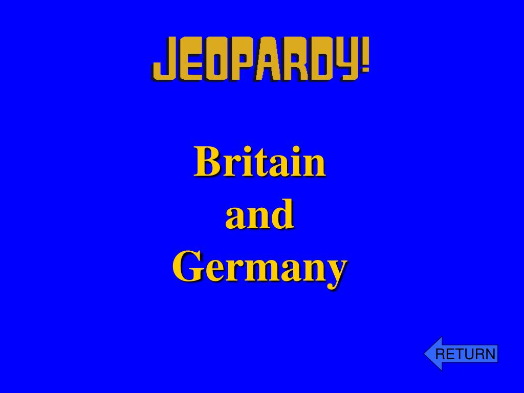 Britain and Germany