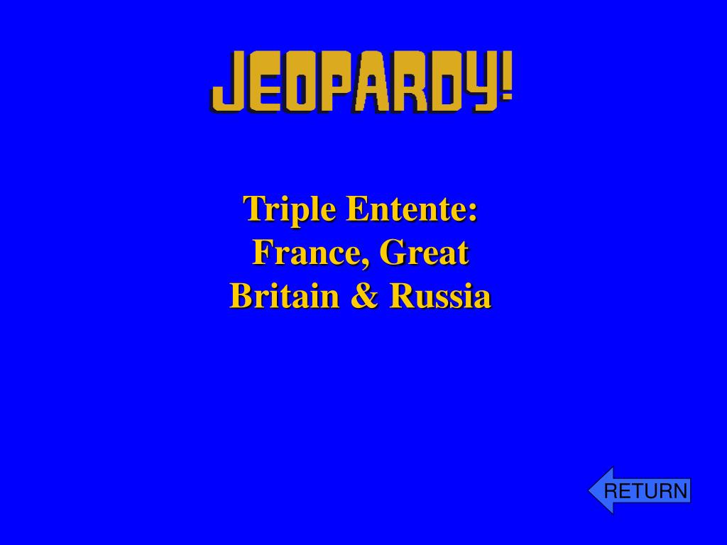 Triple Entente:
