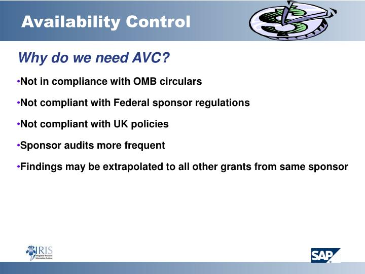 Availability Control