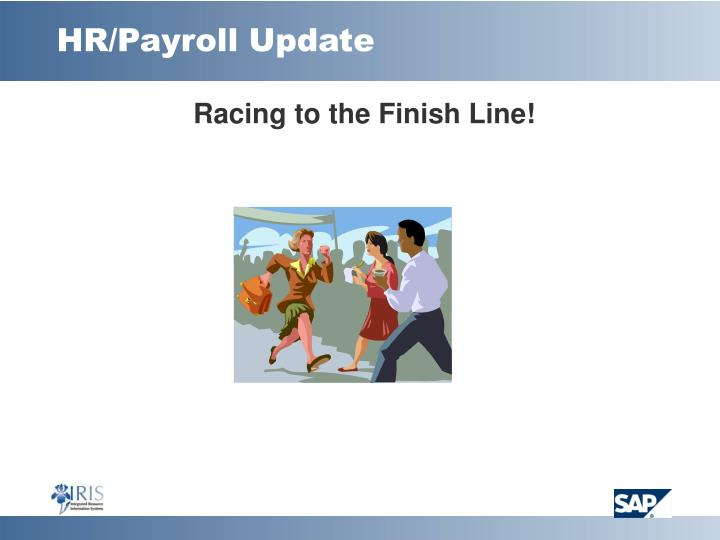 HR/Payroll Update