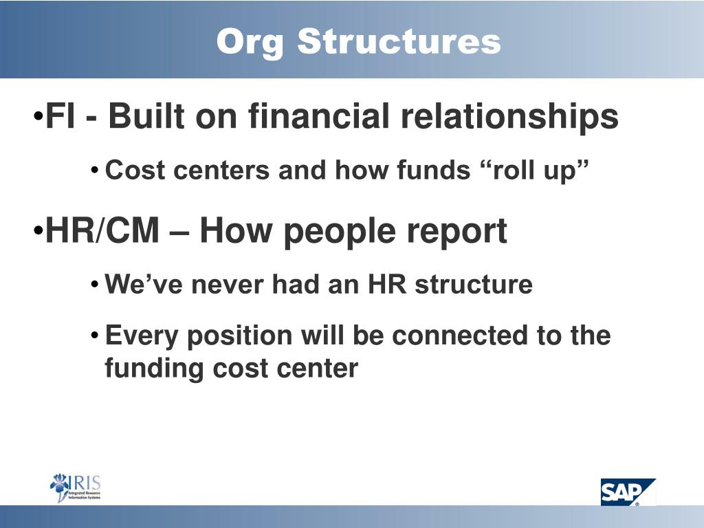 Org Structures