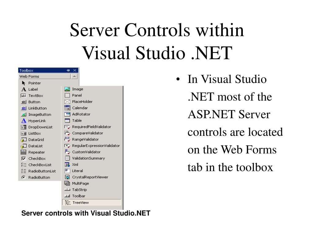 Server Controls within