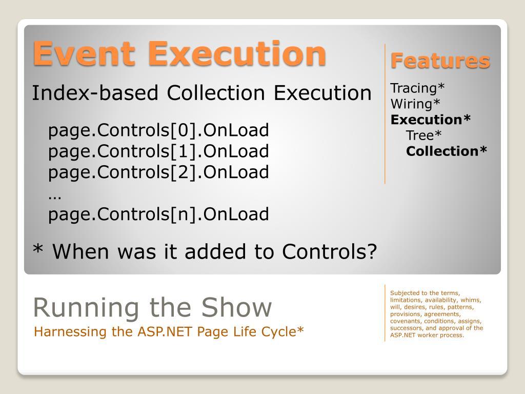 Event Execution