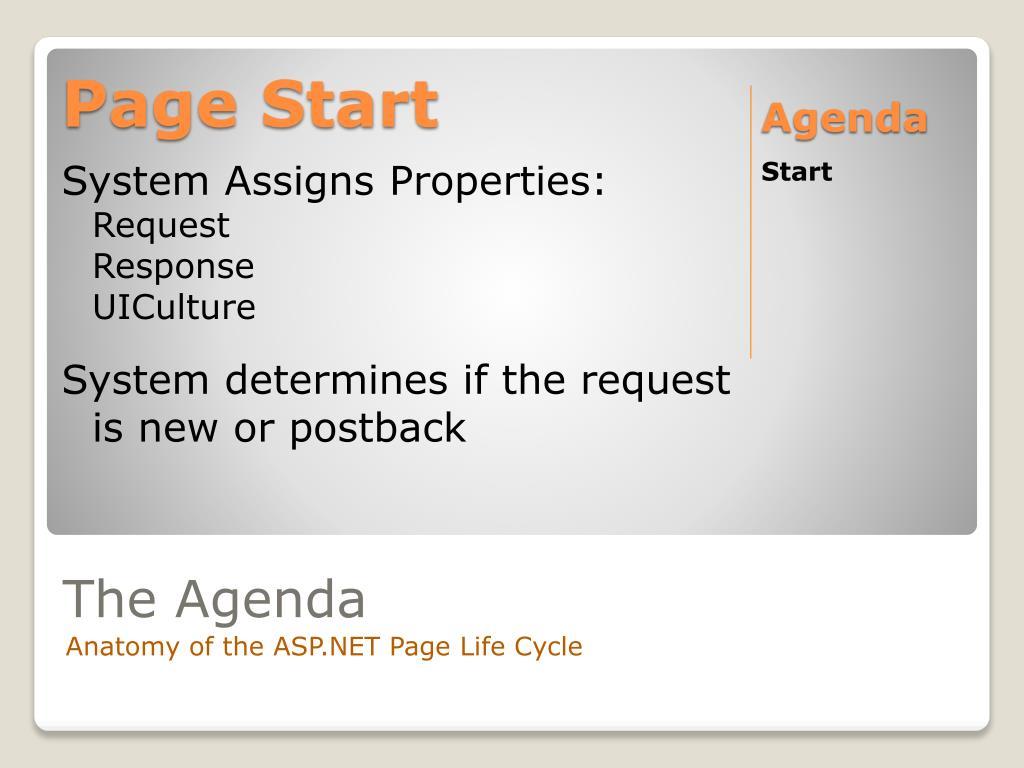 Page Start