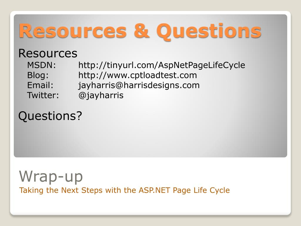 Resources & Questions