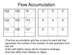 flow accumulation11