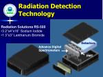 radiation detection technology