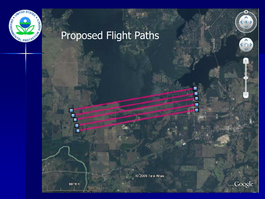 Proposed Flight Paths
