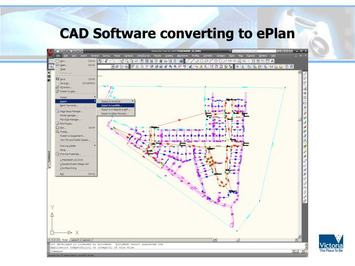 CAD Software converting to ePlan
