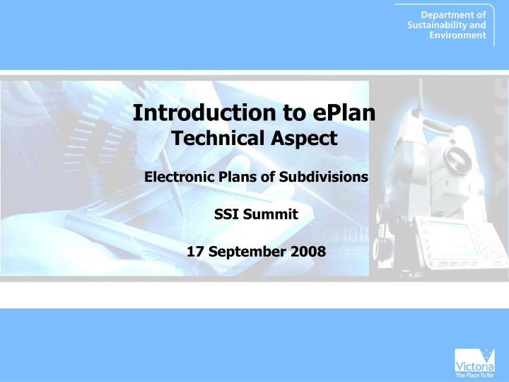 introduction to eplan technical aspect