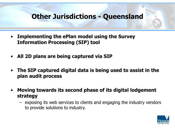 Other Jurisdictions - Queensland