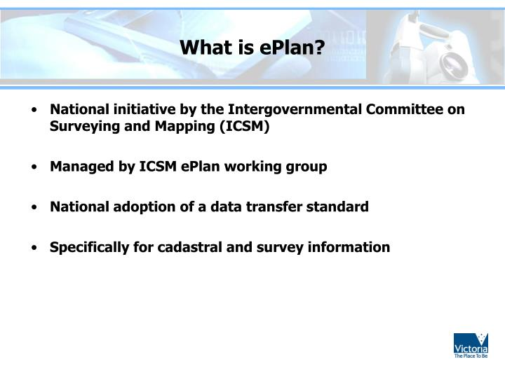 What is ePlan?