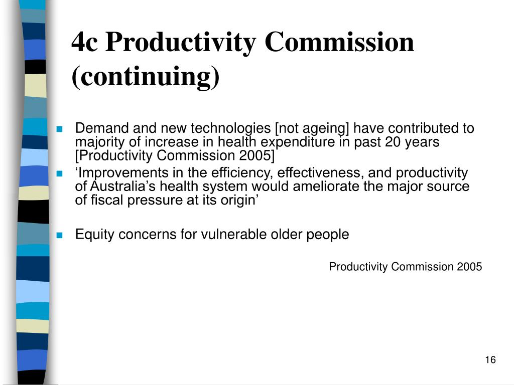 4c Productivity Commission