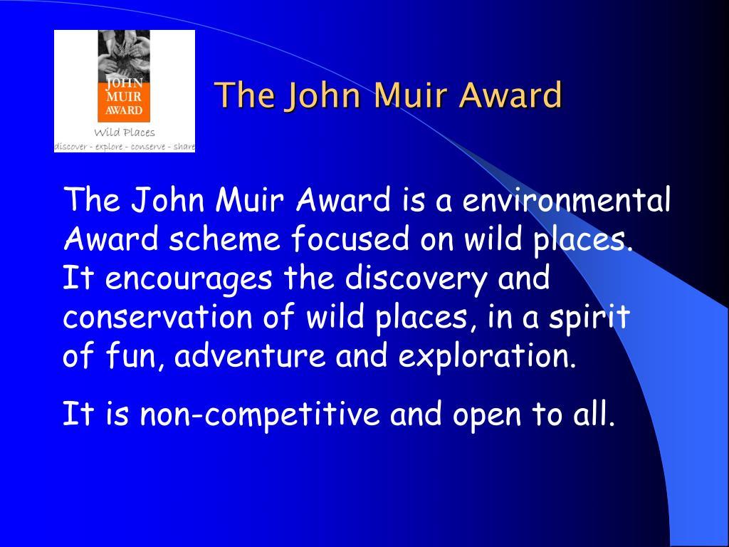 The John Muir Award