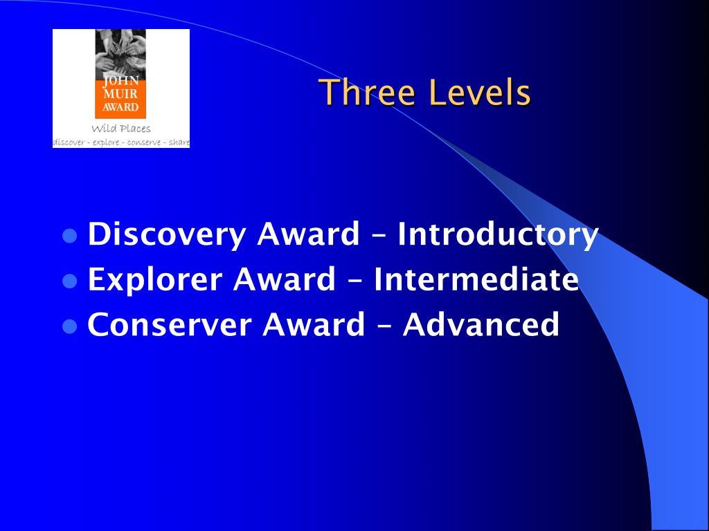 Three Levels