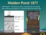 walden pond 1977