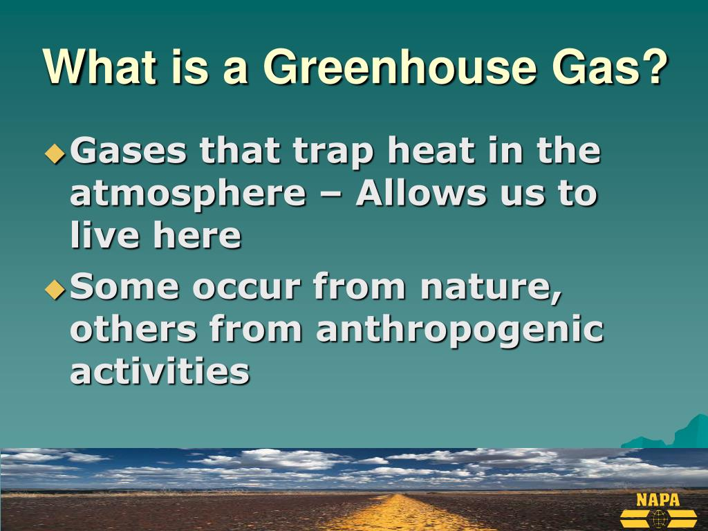 What is a Greenhouse Gas?