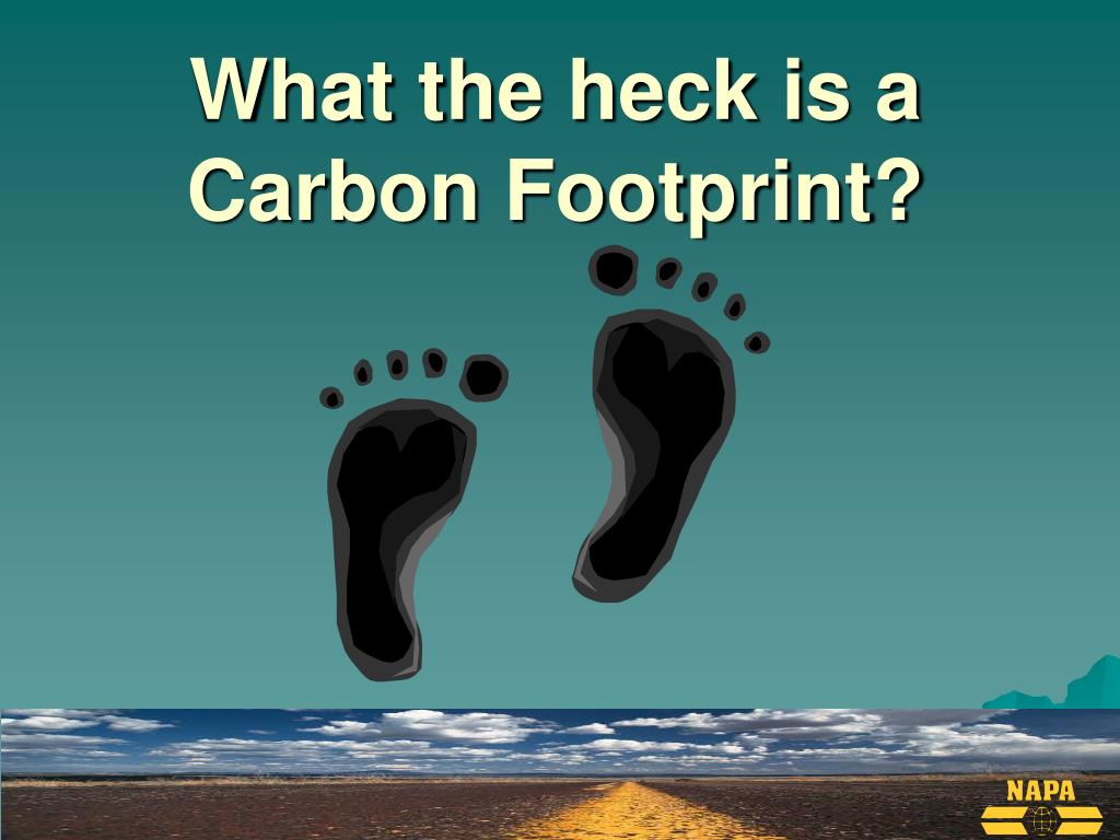 What the heck is a Carbon Footprint?
