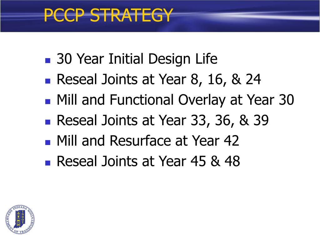 PCCP STRATEGY