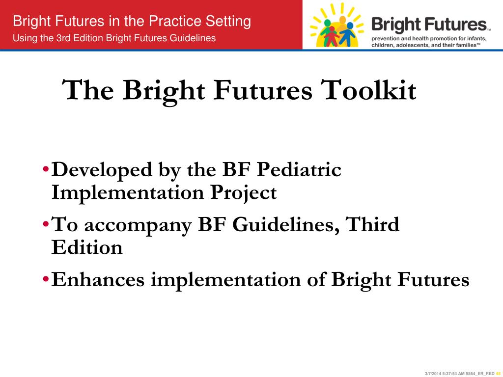 The Bright Futures Toolkit