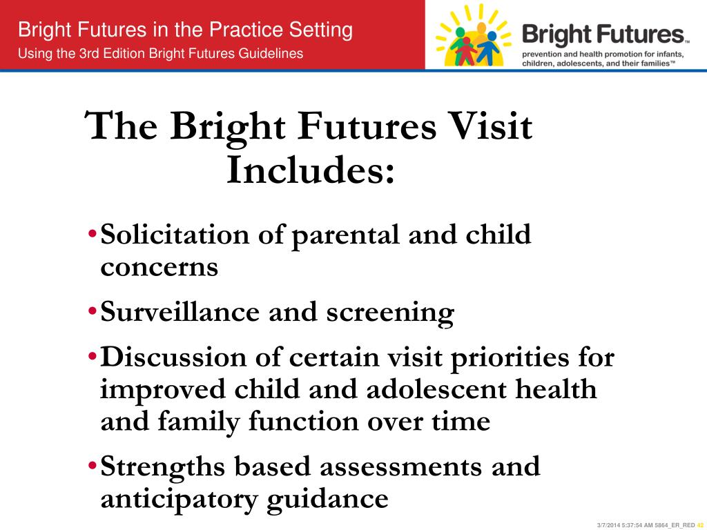The Bright Futures Visit