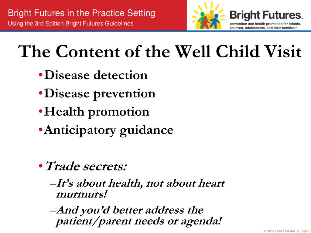 The Content of the Well Child Visit