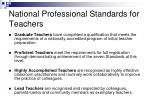 national professional standards for teachers41