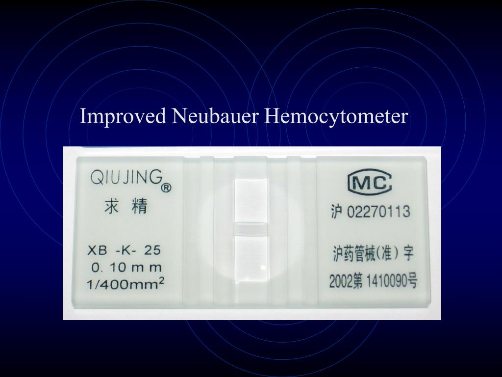 Improved Neubauer Hemocytometer