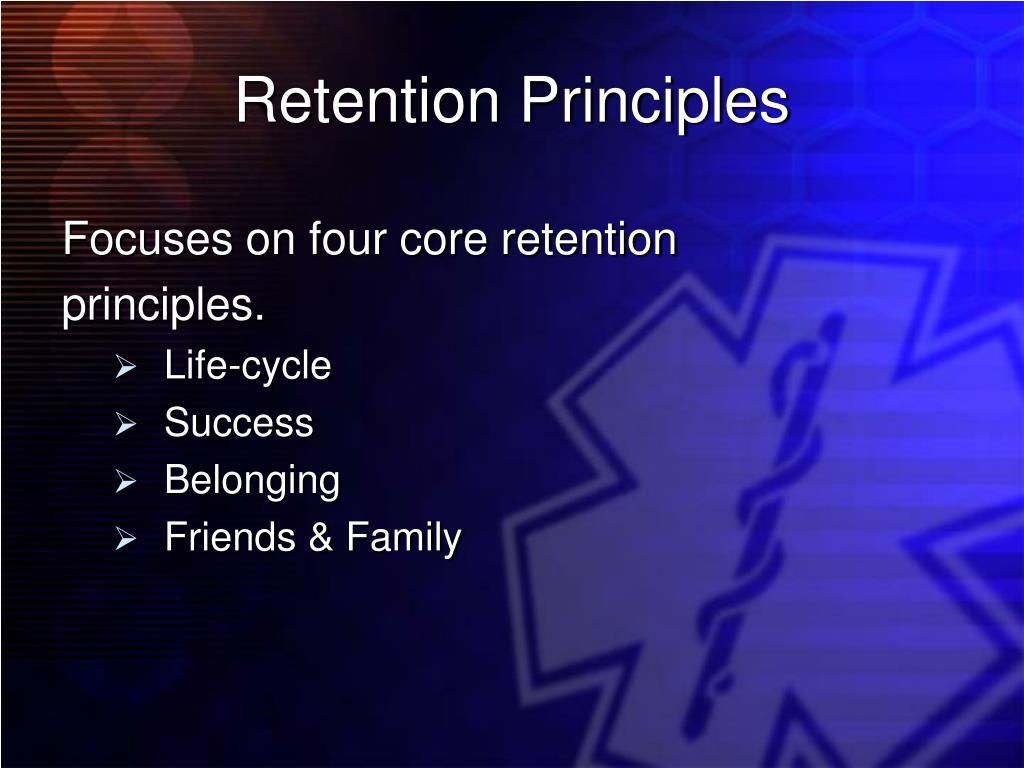 Retention Principles