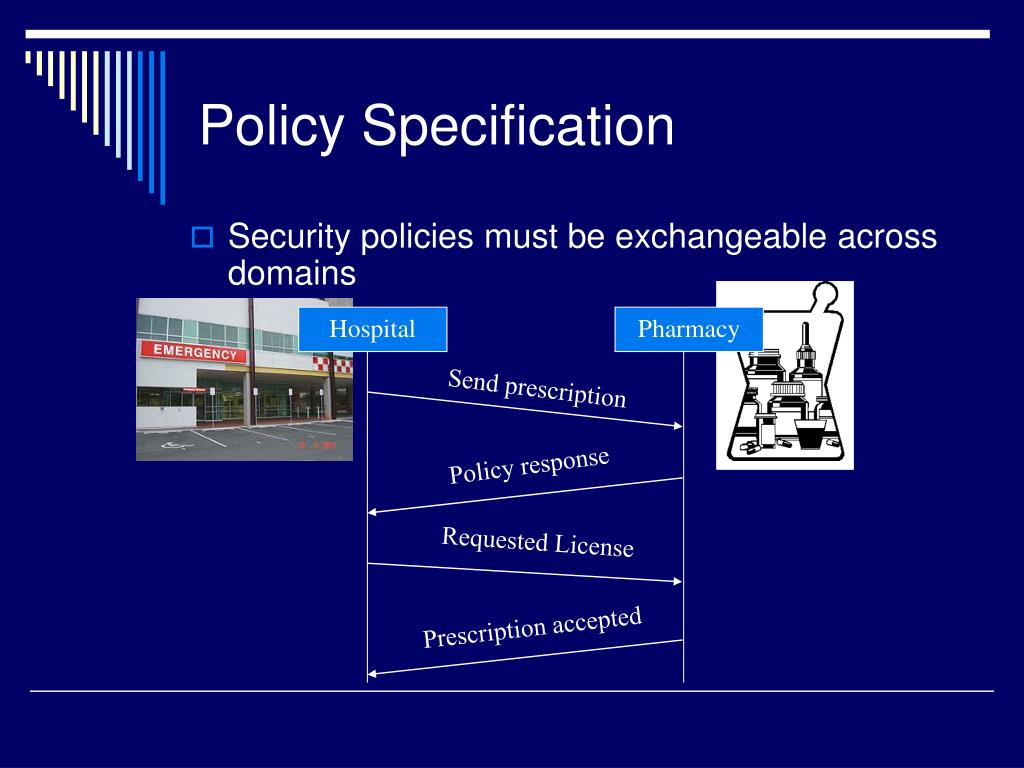 Policy Specification
